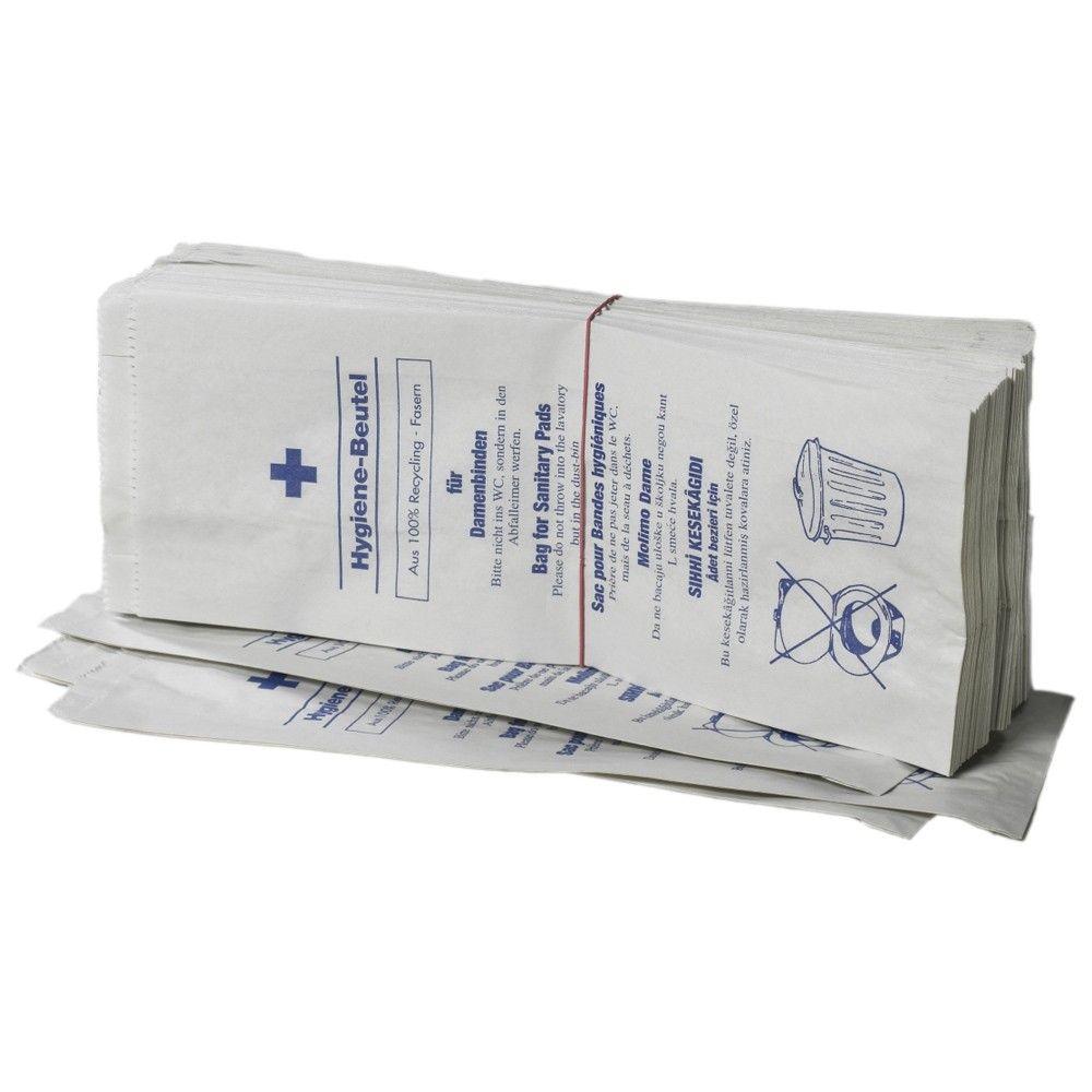Fripa Hygienebeutel mit Seitenfalte Recycling, 1000 Stück