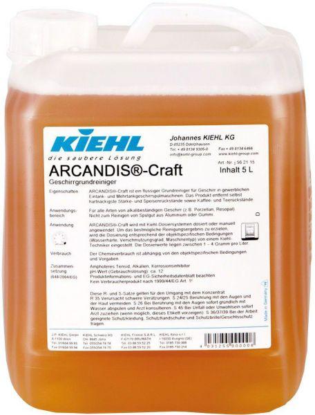 Kiehl Arcandis Craft, 2 x 5 L Kanister im Karton