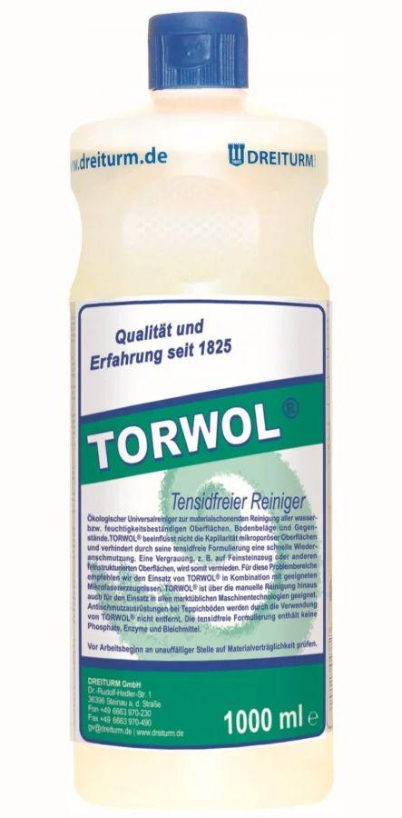 Dreiturm Torwol, neutraler, tensidfreier Reiniger, 12X1 Liter