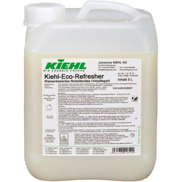 Kiehl-Eco-Refresher, Wasserbasiertes filmbildendes Holzpflegeöl, 2x5 Liter