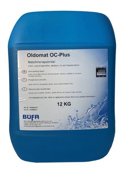Oldomat OC-Plus, Geschirrspüler chlor und phosphatfrei, für alle Wasserhärten, 12 kg