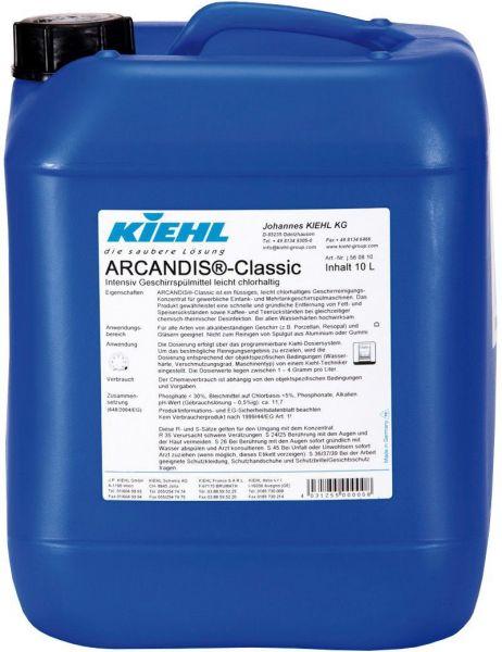 Kiehl Arcandis -Classic Intensiv Geschirrspülmittel leicht chlorhaltig, 10 l