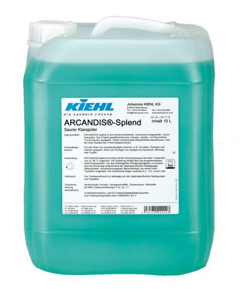 Kiehl Arcandis-Splend, saurer Klarspüler, 10 Liter