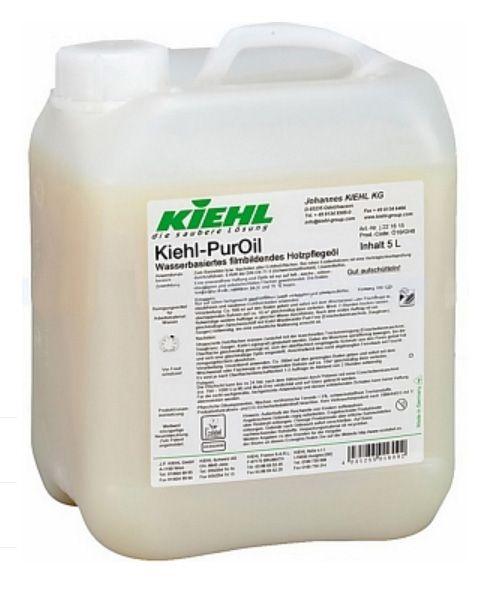 Kiehl-PurOil, Wasserbasiertes imprägnierendes Holzpflegeöl, 2x5 Liter